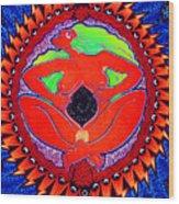 Mama Cosmos Wood Print