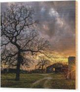 Mambrino Ranch Wood Print