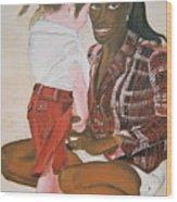 Mami Sandal Wood Print