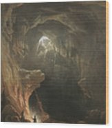 Mammoth Cave Wood Print