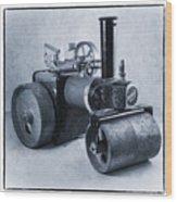 Mamod Roller  Wood Print