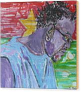 Man from Burkina Faso Wood Print