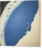Man In The Moon Weeps Wood Print