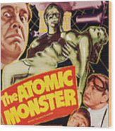 Man Made Monster, Aka The Atomic Wood Print