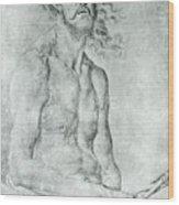 Man Of Sorrow 1522 Wood Print