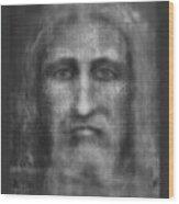 Man Of The Shroud 3 Wood Print