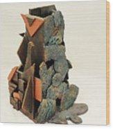 Man Vs. Nature Wood Print