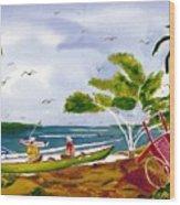 Manana Wood Print