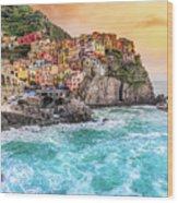Manarola - Cinque Terre National Park - Liguria - Italy Wood Print