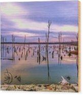 Manasquan Sunrise Wood Print