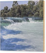 Manavgat Waterfall - Turkey Wood Print
