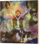 Manawa Poe Kaahele Wood Print
