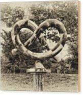 Manayunks Pretzel Park Wood Print