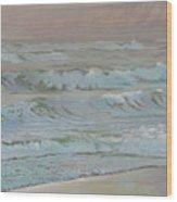 Manchester Beach Wood Print
