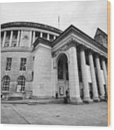 Manchester Central Library England Uk Wood Print