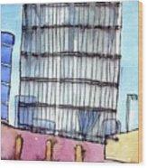 Manchester Embankment 1 Wood Print