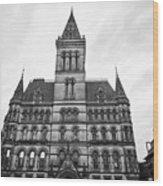 Manchester Town Hall England Uk Wood Print