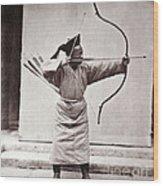 Manchu Archer, 1874 Wood Print