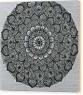 Mandal 5 Wood Print
