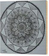 Mandal Wood Print