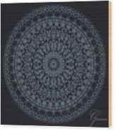 Mandala - 1 Wood Print