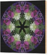 Mandala 3 Wood Print