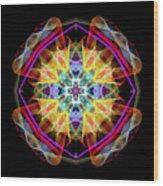 Mandala 3309a Wood Print