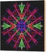 Mandala 3351 Wood Print