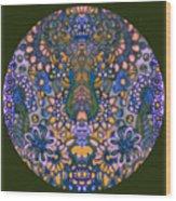 Mandala 55 Wood Print