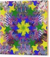 Mandala 6 Wood Print