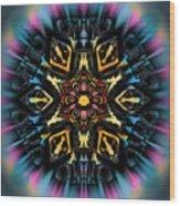 Mandala 67 Wood Print