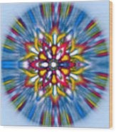 Mandala 70 Wood Print