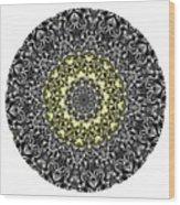 Mandala - Amulet 866 For Those Born In ..... Wood Print