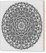 Mandala - Amulet 867 For Those Born In ..... Wood Print