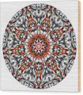 Mandala - Amulet 873 For Those Born In ..... Wood Print