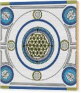 Mandala Anese Wood Print