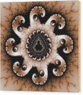 Mandala Dz3 Wood Print