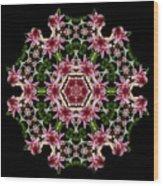 Mandala Monadala  Lisa Wood Print