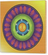 Mandala N0.1 Wood Print