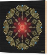 Mandala No. 4 Wood Print