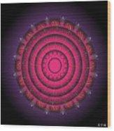 Mandala No. 63 Wood Print