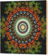 Mandala of Loves Journey Wood Print