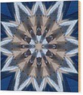Mandala Sea Star Wood Print