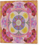 Mandala - Seeds Wood Print