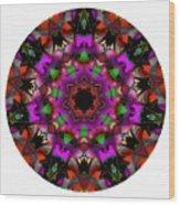 Mandala - Talisman 1100 - Order Your Talisman. Wood Print