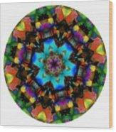 Mandala - Talisman 1101 - Order Your Talisman. Wood Print