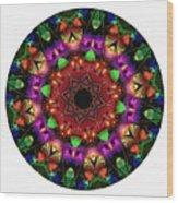Mandala - Talisman 1102 - Order Your Talisman. Wood Print