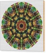 Mandala - Talisman 1103 - Order Your Talisman. Wood Print