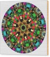 Mandala - Talisman 1104 - Order Your Talisman. Wood Print