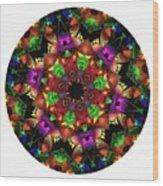 Mandala - Talisman 1105 - Order Your Talisman. Wood Print